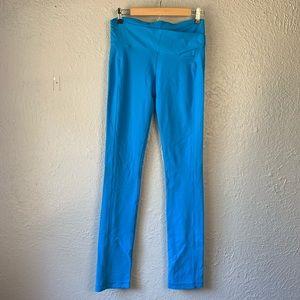 Lululemon Tall Astro Blue Straight Leggings 8